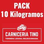 pack 10kg ternera lechal seleccionada