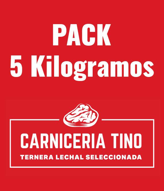 pack 5kg ternera lechal seleccionada