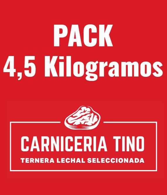 pack 4,5kg ternera lechal seleccionada