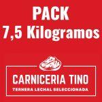 pack 7,5kg ternera lechal seleccionada