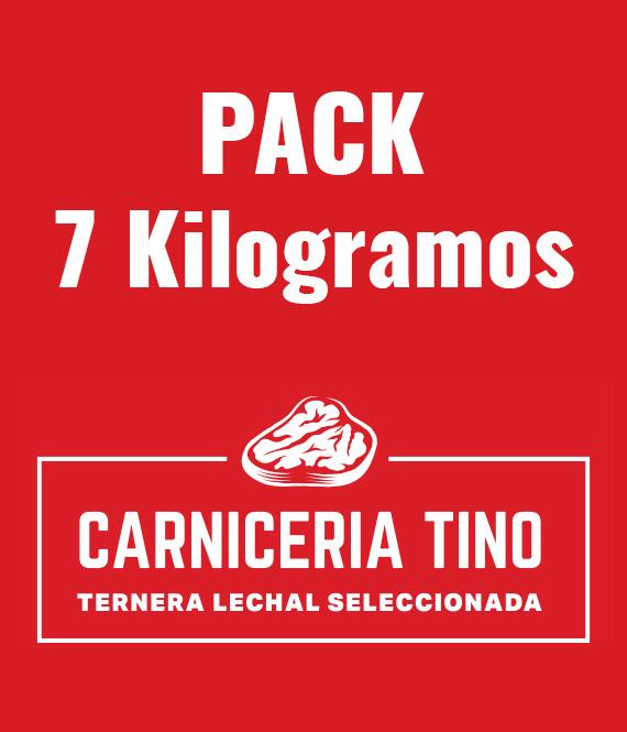 pack 7kg ternera seleccionada